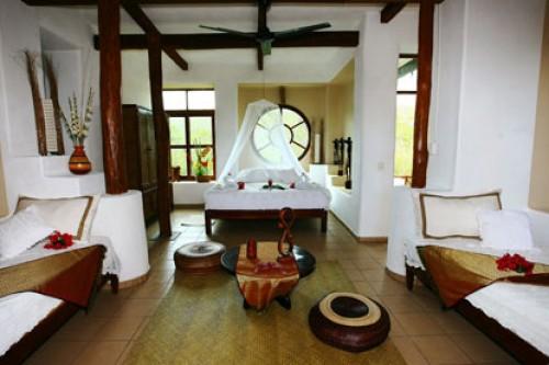 Caba a manglar habitaciones akal ki centro hol stico for Pabellon para cama king size