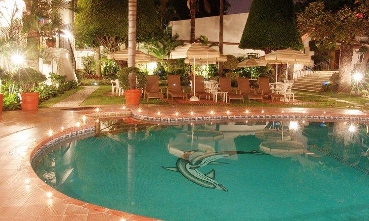 Alberca Hoteles con habitaciones en el agua