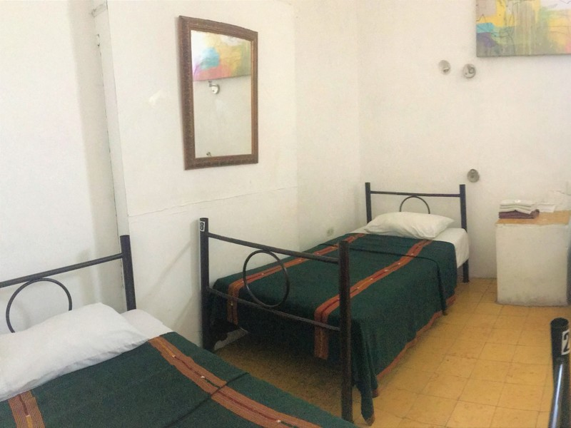 Bed in Basic Shared Room