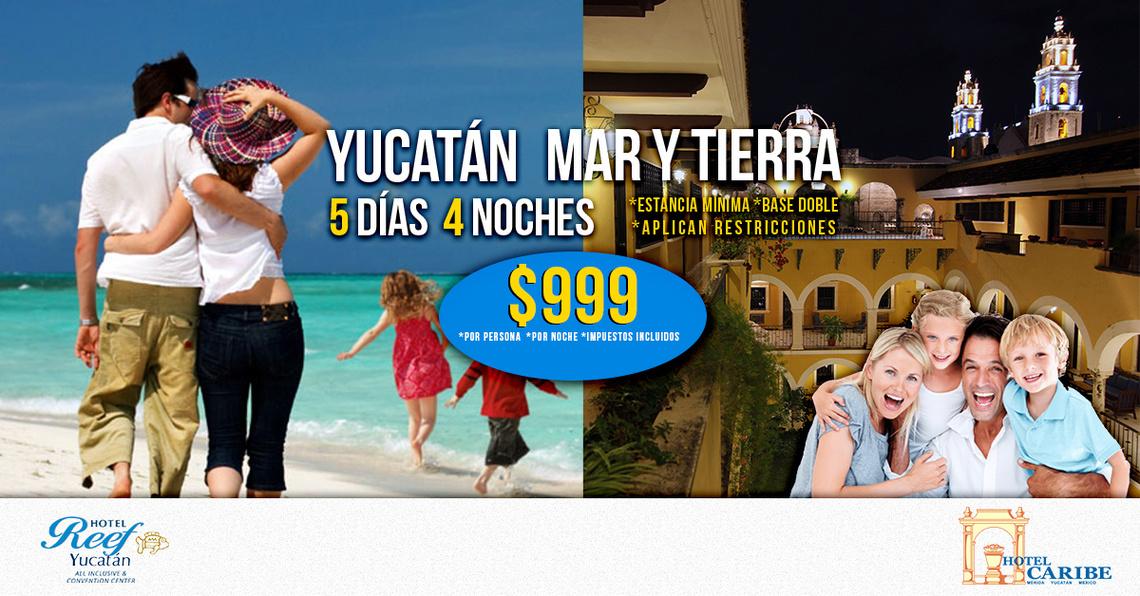 Paquetes todo incluido, Mérida Yucatán.