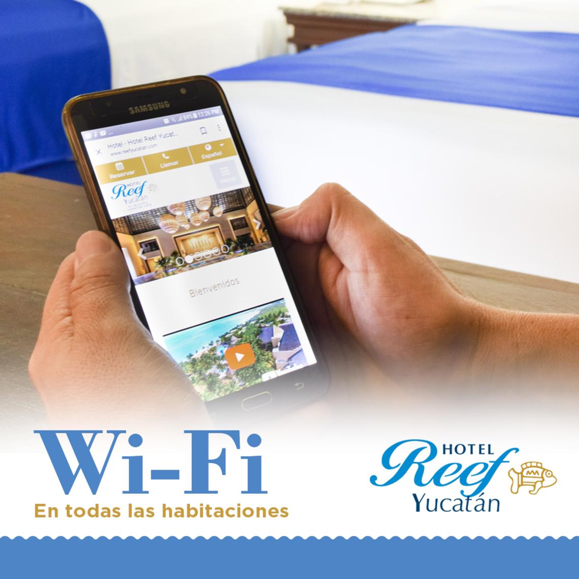Habitaciones con Internet en la playa