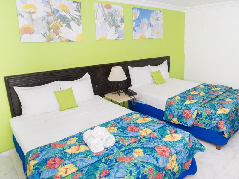 Habitacion Estandar - 2 camas dobles