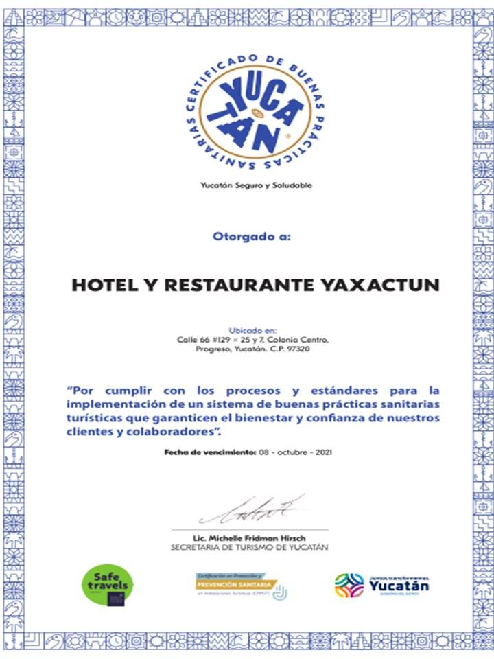 Hotel y Restaurante Yaxactun