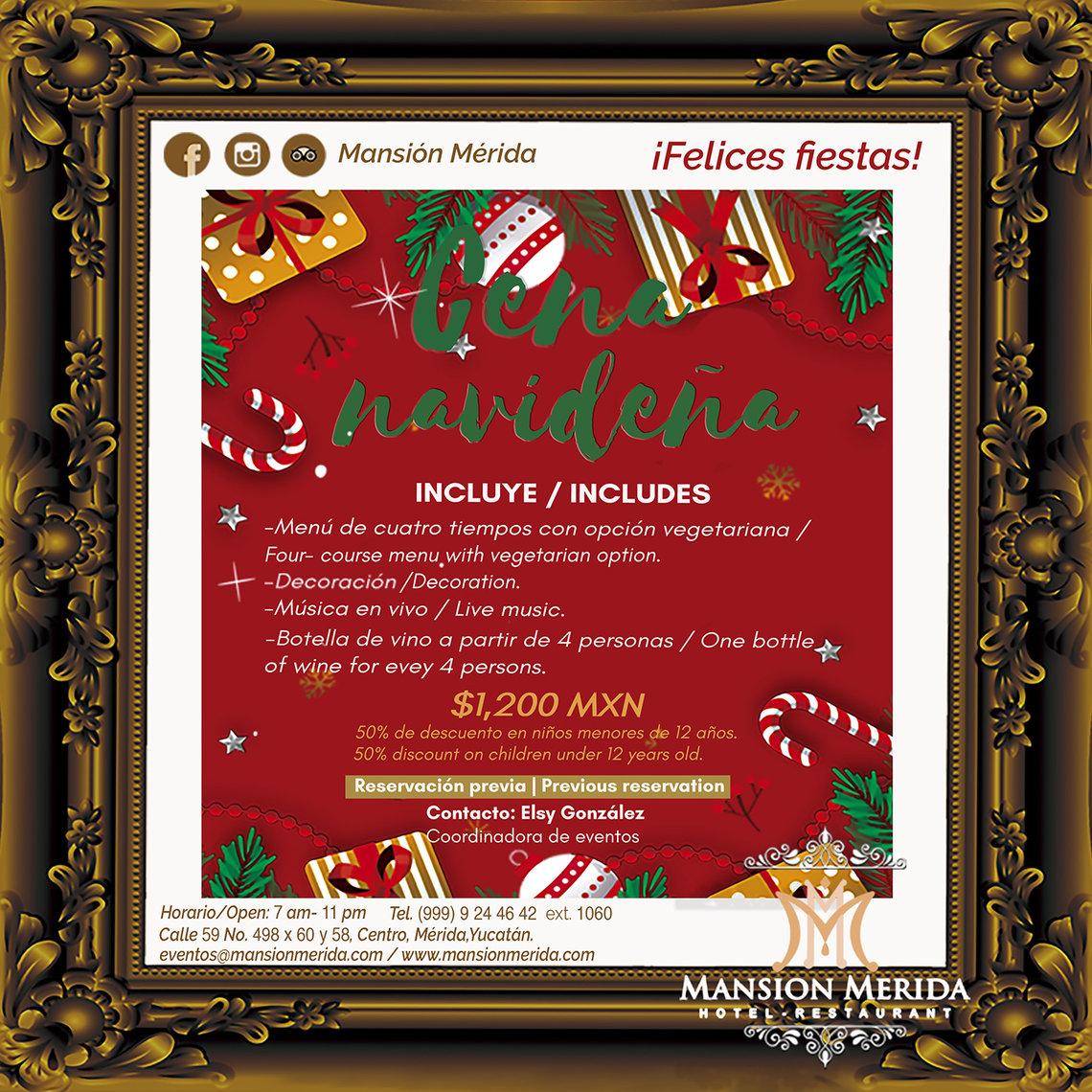 Mansion Merida Hotel - Restaurant