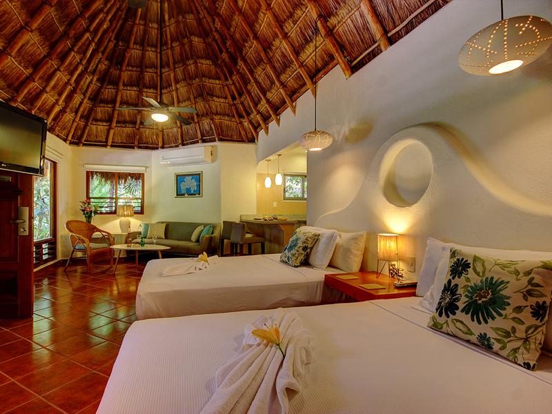 Garden Suite 2 camas dobles
