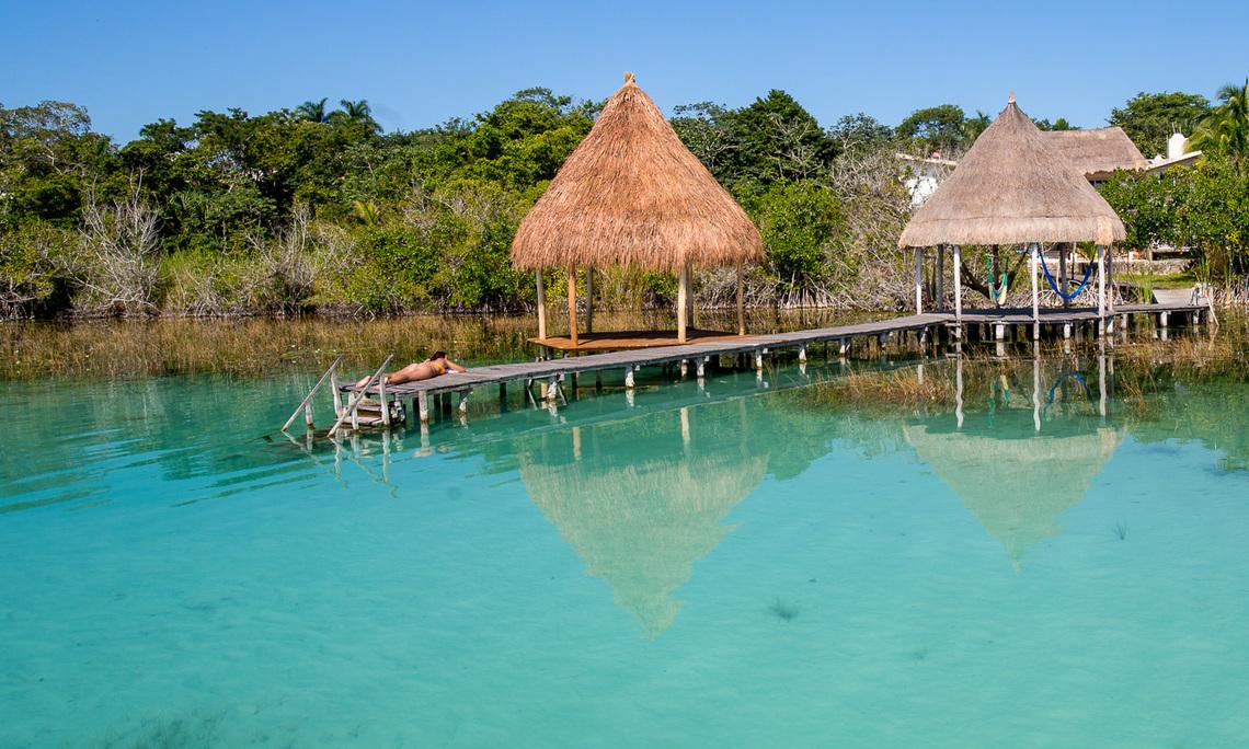 Aventuras y arqueolog a hotel rancho encantado bacalar for Hotel luxury en bacalar