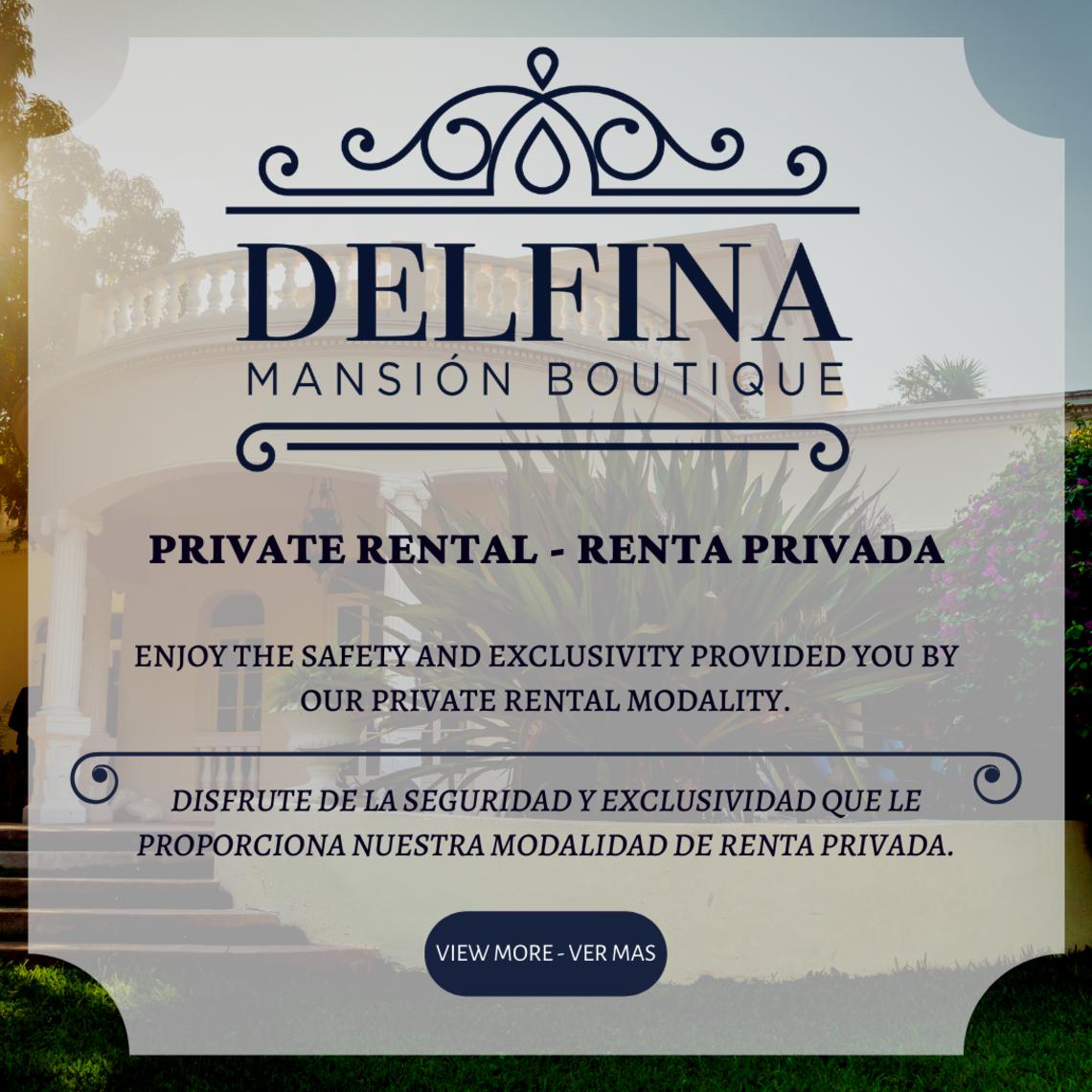 Renta privada hotel boutique
