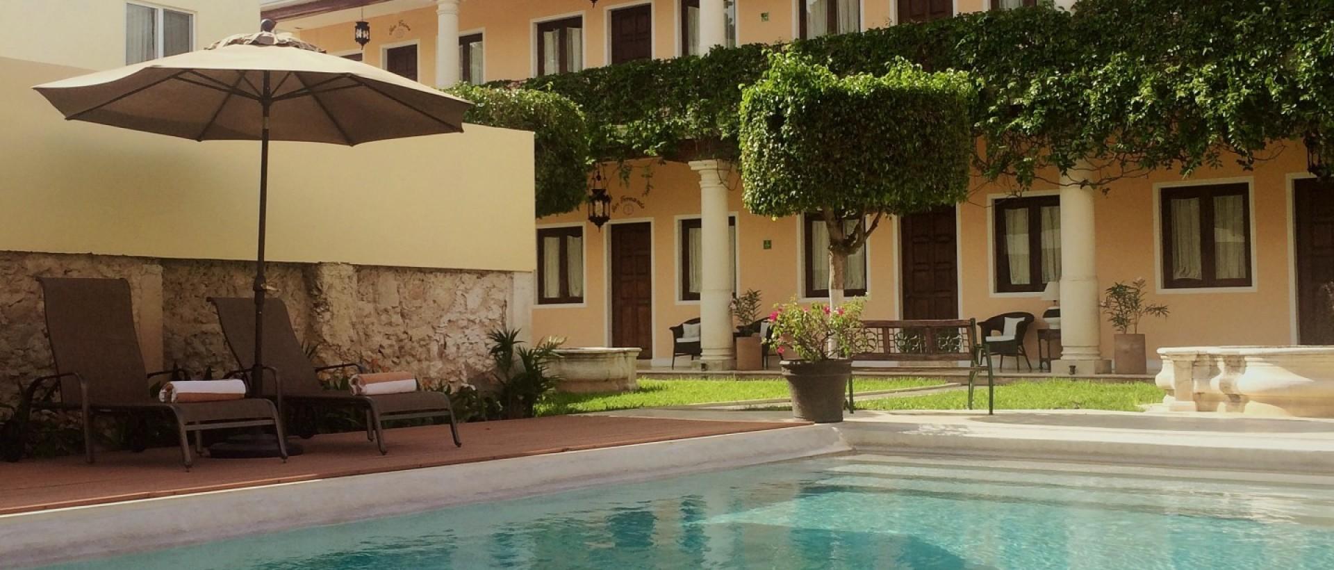 Hotel casa luc a m rida yucat n for Construccion de piscinas merida yucatan