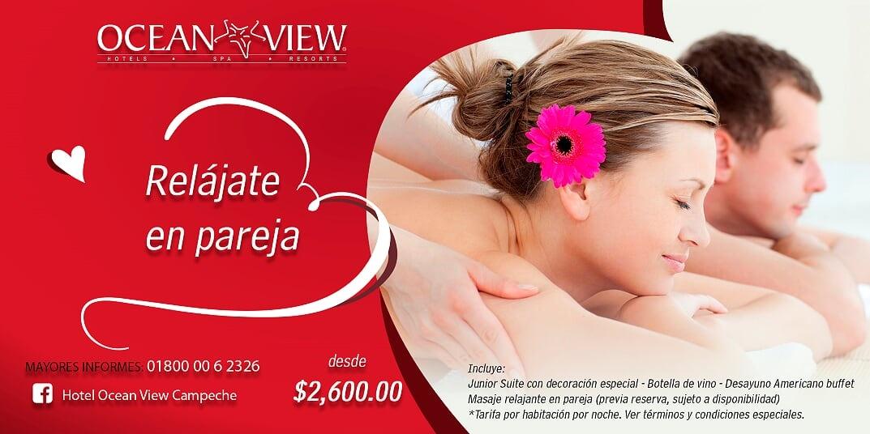Paquete Romantico + Spa