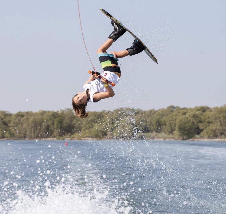 Wake board en lago de Valle de Bravo