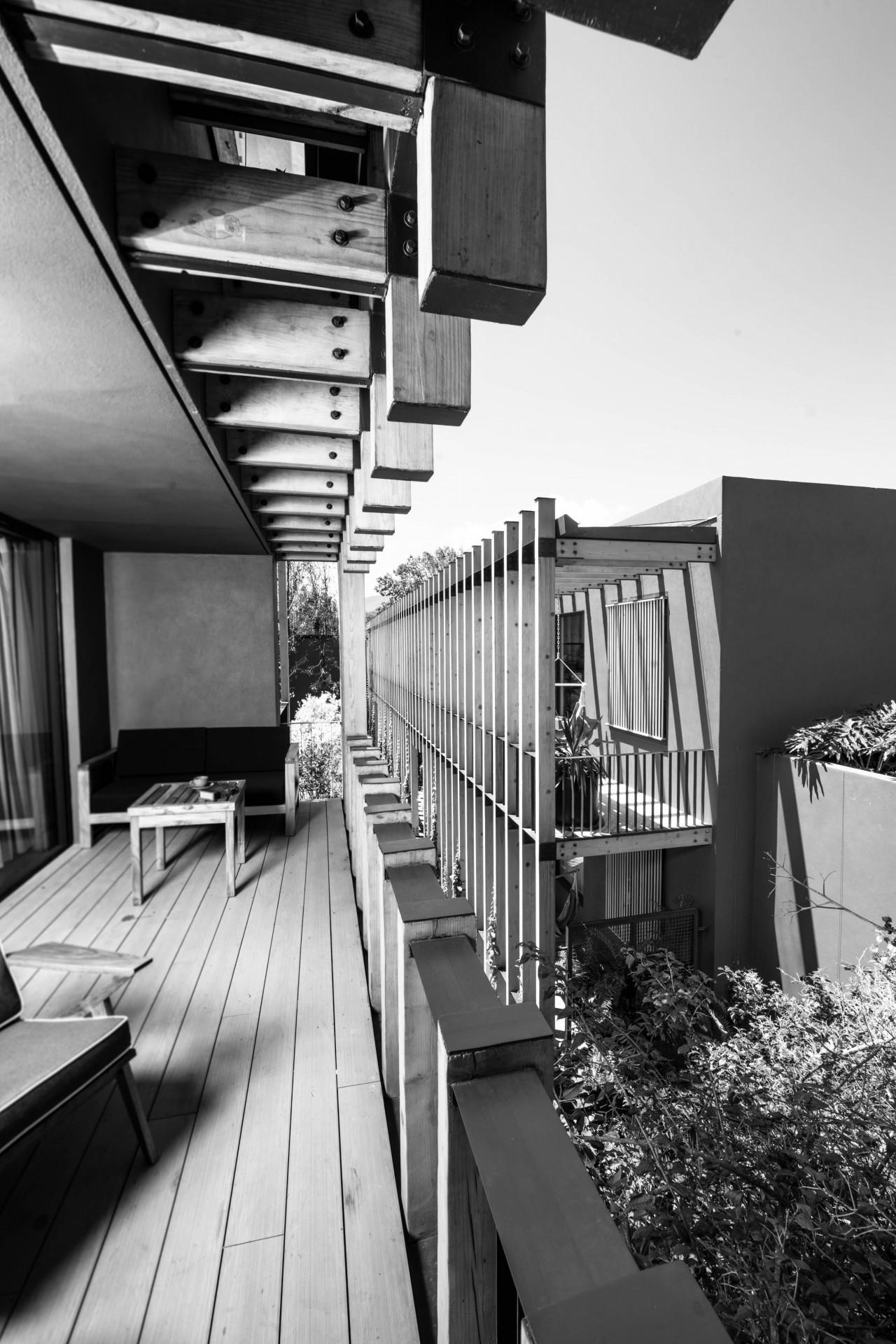 Arquitectura de Hotel Cinco Rodavento en Valle de Bravo