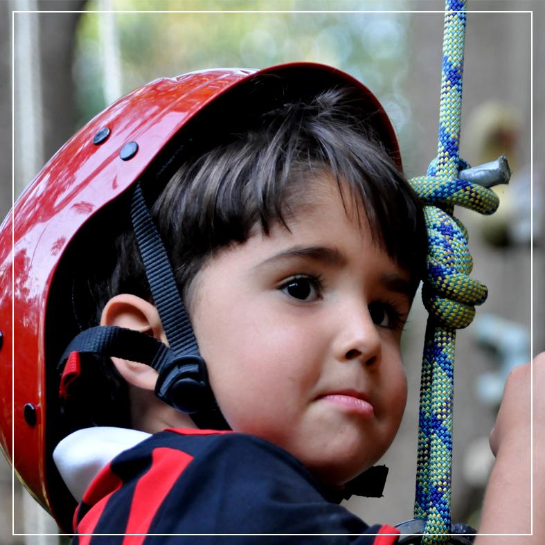 Actividades niños en Jalcomulco