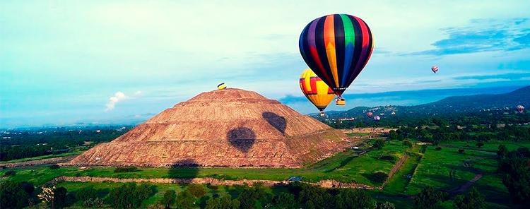 Vuelos en Globo Teotihuacán