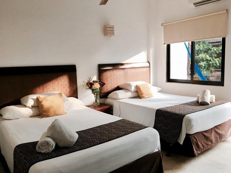 Superior  - 2 camas dobles
